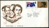 """AUSTRALIA  -  Sobre F.D.C. """"The Royal Visit"""" Año 1970 - Sobre Primer Día (FDC)"""