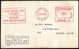 AUSTRALIA  -  Sobre Con Marca Especial Circulado En Sydney Año 1962 - Marcofilia
