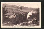 CPA Monestier-de-Clermont, Le Pont De La Lauzière Et La Chaîne De La Moucherolle - France