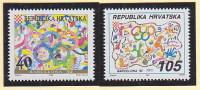 Croatia. 1992. Olympic Games - Barcelona '92. Mi# 203-204. MNH - Croazia