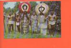 TAHITI - Ancien, Costumes D'apparat Du Roi - Photo Par Afo Giau - Polynésie Française
