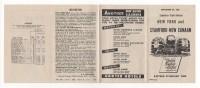 "02329 ""NEW YORK AND STAMFORD-NEW CANAAN - SUBURBAN TRAIN SERVICE 1950"" ORARI - Mondo"