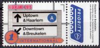Nederland  - Grenzeloos Nederland-USA - Taal - New York Metro - Harlem - Brooklyn - MNH - NVPH 3326 - Transportmiddelen