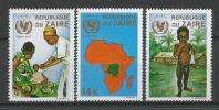 TP DE LA REPUBLIQUE DU ZAIRE N° 800 à 802 NEUFS SANS CHARNIERE - 1971-79: Ungebraucht