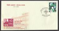 India   2008  Physics  Micro - Wave Instrument  Scientist  Jagdish Chandra Bose  KOLKATA  Cover  # 66885  Inde Indien - Physics