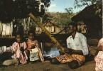 M03 / CPSM MADAGASCAR MUSICIEN JOUEUR DE VAHIHA VOYAGEE VOIR DOS - Madagascar