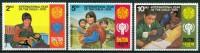 1979 Bhutan Infanzia Childhood Enfance Set MNH** Y2 - Bhutan