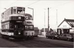 Tram Photo Bolton 66 Blackpool Corporation Tramways Balloon 713 Fleetwood Ferry - Trains