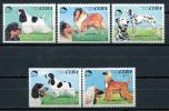 Cuba 1994 / Dogs MNH Hunde Chiens Perros / C9923  34-5 - Hunde