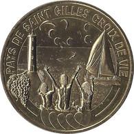 2014 - PAYS DE SAINT GILLES CROIX DE VIE 2 - Le Logo / MONNAIE DE PARIS - Monnaie De Paris