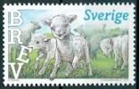 ZWEDEN 2013 Zegel Uit Souveniersheet Jonge Dieren PF-MNH-NEUF - Suède