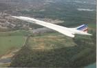 CONCORDE - Cie Air France - Quadriréacteur Supersonique à Aile Delta - Mach 2 - 2200 Km/h - 1946-....: Era Moderna