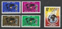 TP DE LA REPUBLIQUE DU ZAIRE N° 985 à 988 + 990 NEUFS SANS CHARNIERE - 1971-79: Ungebraucht