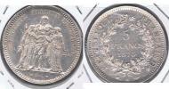 FRANCIA 5 FRANCS  1873 A PLATA SILVER X BONITA - J. 5 Francos