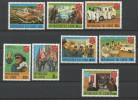 TP DE LA REPUBLIQUE DU ZAIRE N° 1017 à 1024 NEUFS SANS CHARNIERE - 1980-89: Ungebraucht
