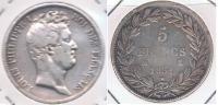 FRANCIA FRANCE 5 FRANCS LOUIS PHILIPPE 1831 M PLATA SILVER X - Francia