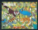 GROßBRITANIEN Mi.Nr. Block 64 50 Jahre Naturschutzorganisation World Wildlife Fund (WWF) - MNH - Blocks & Kleinbögen