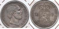 HOLANDA 2 Y MEDIO GULDEN 1851 PLATA SILVER Y - [ 3] 1815-… : Reino De Países Bajos