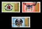 New Zealand 1971 City Centenaries Set Of 3 Used - - - New Zealand