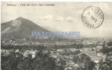 17994 CHILE SANTIAGO CERRO SAN CRISTOBAL CIRCULATED TO SWITZERLAND  POSTAL POSTCARD - Chile