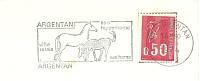 Cover Flamme Meter ARGENTAN  Son Hippodrome, Ses Haras 30/4/1974 Horses - Paarden