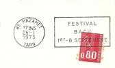 Cover Flamme Meter Mazamet Festivak BACH 26/7/1975 - Muziek