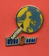 Pins Espace Satellite Mappemonde Philips B694 - Espacio