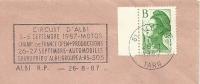 Cover Flamme Meter ALBI, Circuit D'Albi MOTOS Champ De France Open+productions Automobile 26/8/1987 - Auto's