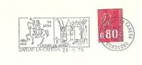 Cover Flamme Meter Sarlat-la-Caneda Festival De Sarlat Horse Castle 28/9/1976 - Kastelen