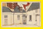 N° 162 L'Hopital A Louvain Env1899 De Ci, De La A BRUXELLES Et En BRABANT ILLUSTRATEUR A LYNEN  ILLUSTRATOR Leuven 4486 - Leuven