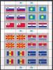 UN - United Nations New York Flag Stamp 2001 (Mi.nos 862-69) Complete Set 2 Sheets MNH - New-York - Siège De L'ONU
