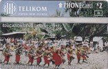 Papua New Guinea, PNG-094b, Laura Elementary School, Unused, 2 Scans.   CN : 804C. - Papua New Guinea