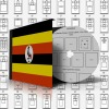 UGANDA STAMP ALBUM PAGES 1895-2011 (477 Pages) - Software