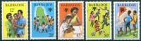 1979 Barbados Infanzia Childhood Enfance Set MNH** Y14 - Barbados (1966-...)