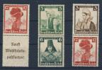 Lot Deutsches Reich ZD S 231, S 237 , S 241 ** postfrisch