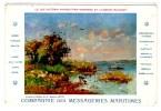 Carte Postale, Bateau, Comp. Messageries Maritimes, Lac Victoria Nyanza, Mobasa, Uganda, Railway - Barche