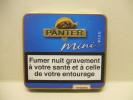 BOITE Métal Vide PANTER MINI Bleu (20 Cigares) - Étuis à Cigares