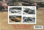 Saint Pierre And Miquelon, Cars Of The Fifties, 2015, MNH VF - Unused Stamps