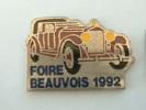 Pin´s FOIRE BEAUVOIS 1992 - Badges
