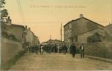 42  Sury Le Comtal  Grande Rue Sortie De L' Usine - Autres Communes