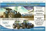 AGRICULTURE TRACTEUR  LANDINI  CARTE INVITATION  ETS MUZY 01400 CONDEISSIAT - Autres