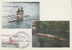 Carte Maximum  1er  Jour   MONACO    Jeux  Olympiques  MONTREAL   1976 - Estate 1976: Montreal