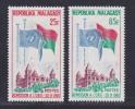 MADAGASCAR N°  362 & 363 ** MNH Neufs Sans Charnière, TB  (D286) - Madagascar (1960-...)