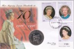 Sobre Con Moneda - Sellos