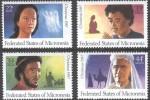 Miconesie Micronesia 1987 Yvertn° 45 + PA LP 27-29 *** MNH Cote 5,50 Euro Noël Kerstmis Christmas - Micronésie