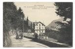 CPA - SAINT SAUVEUR, SORTIE DE SAINT SAUVEUR, CHALET BON ACCUEIL - Hautes Pyrénées 65 - Cheval, Attelage.. - Ecrite - Other Municipalities