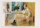 CARTE MAXIMUM CM Card USSR RUSSIA Art Painting Music Bas Opera SHALYAPIN - 1923-1991 URSS