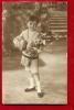 FXH-11 Joyeuses Pâques, Enfant Avec Oeux Et Bouquet De Fleurs. Cachet Lausanne 1914, Timbre Manque. - Pâques