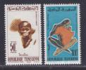 TUNISIE N°  548 & 549 ** MNH Neufs Sans Charnière, TB  (D305) - Tunisie (1956-...)