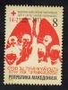 MACEDONIA, 2013, MICHEL RC 166,  RED CROSS, WEEK AGAINST TUBERCULOSIS ** - Macédoine